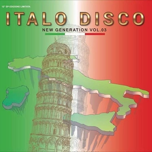 "Various - Italo Disco New Generation vol 3 - 12"" colored vinyl"