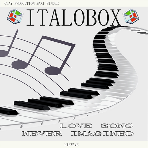 "Italobox - Love Song / Never Imagined - 12"" Electric Blue vinyl. 100 copies only"