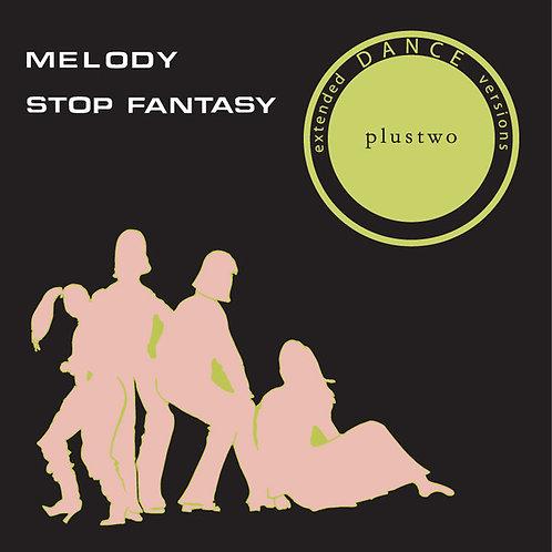 "Plustwo – Melody / Stop Fantasy 12"" Black vinyl"