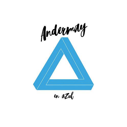 """Andermay - En Azul - 12"""" Blue vinyl"""