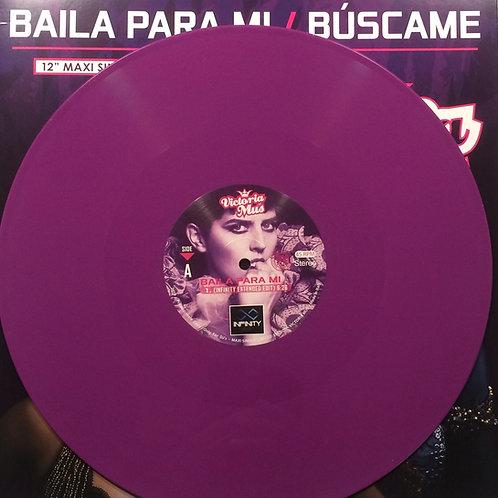 "Victoria Mus - Baila Para Mi - 12"" purple vinyl"