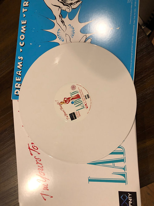 "Lady D/Dreams Come True - I'm yours Tonight/ Sweet Magic - 12"" white vinyl"