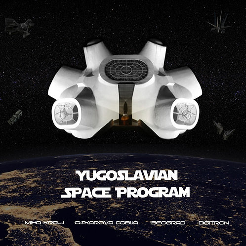 Various ‎– Yugoslavian Space Program