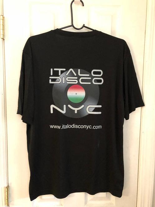 T-shirt - Medium - Italodisconyc- men's moisture wicking performance tshirt