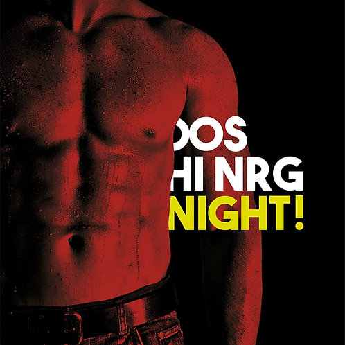 "Various - Dos Hi NRG Night! 12"" black vinyl"