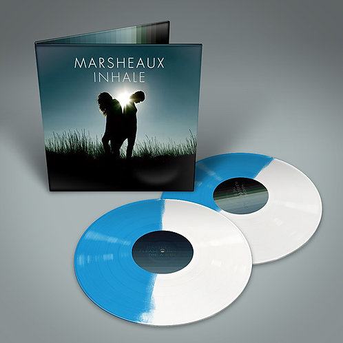 Marsheaux ‎– Inhale (White and Blue)