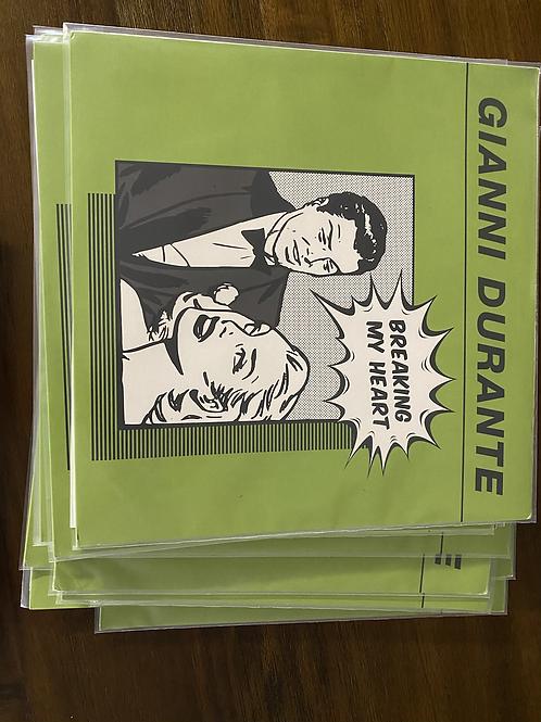 "Gianni Durante - Breaking My Heart - 12"" black vinyl"