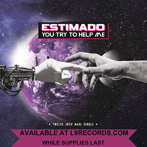 "Estimado - You Try To Help Me - 12"" Milky Clear vinyl - Limited to 100 copies"