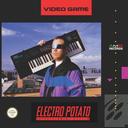 "Electro Potato - Video Game - 12"" Grey vinyl"