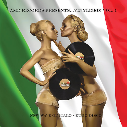 AMD Records PRESENTS...VINYLIZED! VOL 1 - LP Green vinyl . Limited Edition