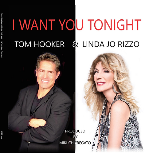 "Tom Hooker & Linda Jo Rizzo - I Want You Tonight 12"" Pink vinyl"