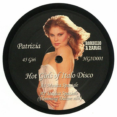 "Various - Hot Girls of Italo Disco 12"" Repress black vinyl"