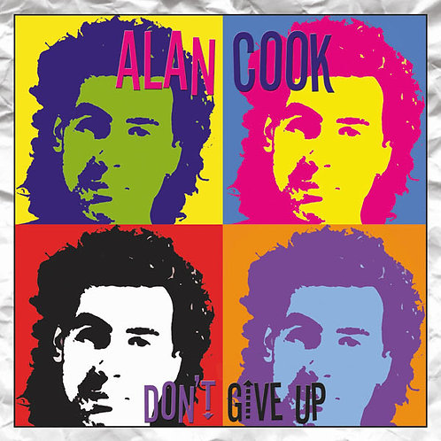 """Alan Cook - Don't Give Up 12"""" vinyl"""