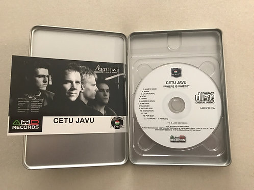 Cetu Javu - Where Is Where... - Deluxe Tin Boxset w/ Postcard. Ltd 100 copies
