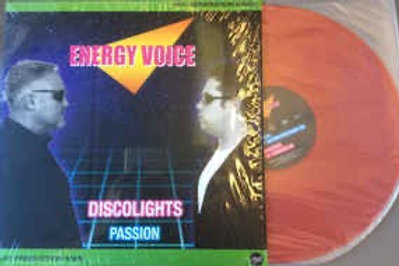 "Energy Voice - Discolights - 12"" red vinyl . Limited edition of 100"