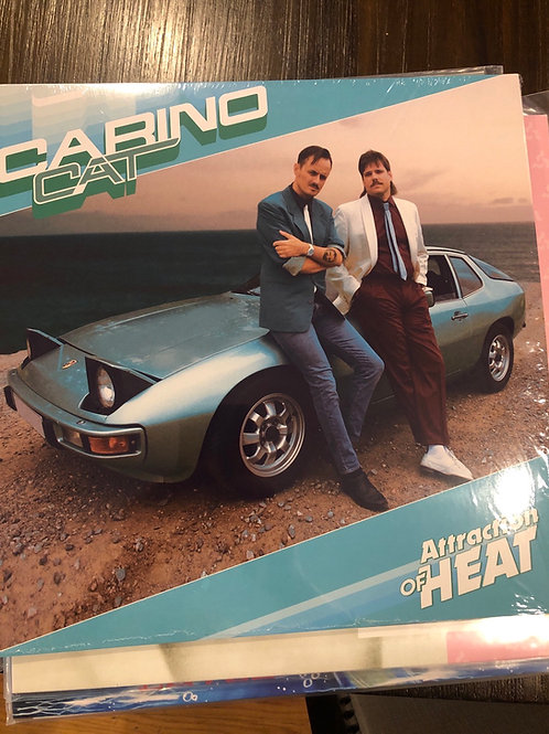 Carino Cat - Attraction Of Heat - clear blue vinyl