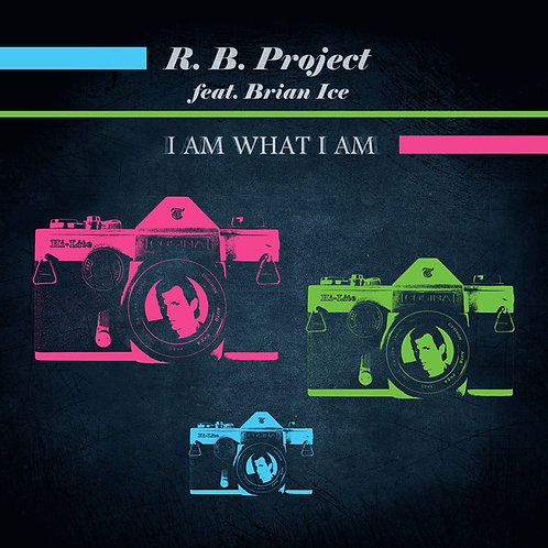"R.B. Project feat. Brian Ice - ""I Am What I Am"" 12"" Green vinyl"