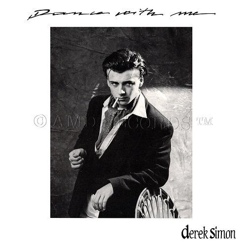 "Derek Simon - Dance With Me - 12"" aqua blue vinyl"