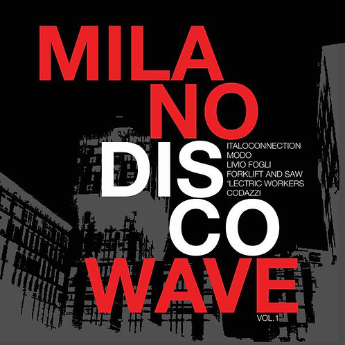 Various ‎– Milano Disco Wave LP Black vinyl