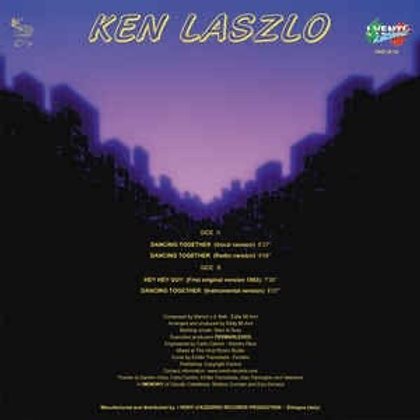 "Ken Laszlo - Dancing Together 12"" blue vinyl"