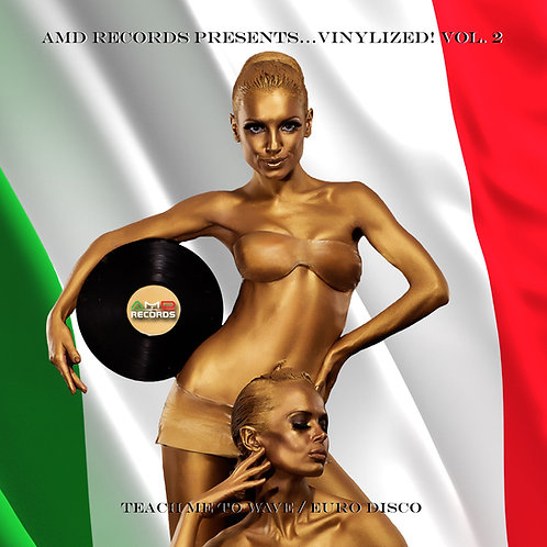 AMD Records PRESENTS...VINYLIZED! VOL 2 - White vinyl . Limited Edition of 150