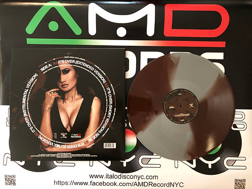"TQ - It's Over - 12"" brown & silver vinyl"