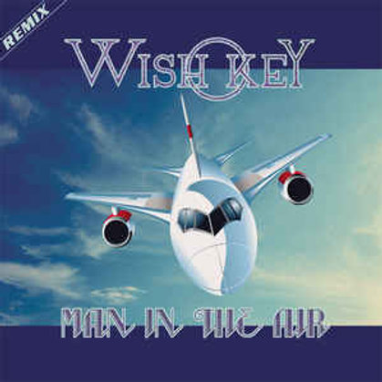 "Wish Key - Man in the Air - 12"" Black vinyl"