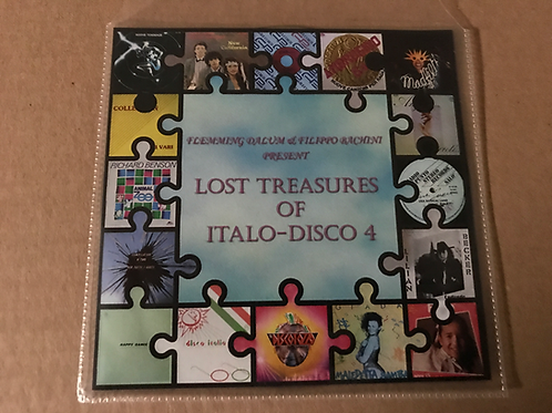 Lost Treasures of Italo Disco 4 on CD only!!!!