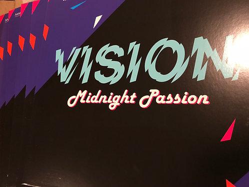 """Vision - Midnight Passion -12"""" black vinyl"""