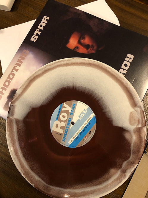 "Roy - Shooting Stars - 12"" brown and white vinyl. 100 copies only"