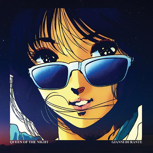 "Gianni Durante - Queen Of The Night - 12"" Orange vinyl.100 copies only!!"
