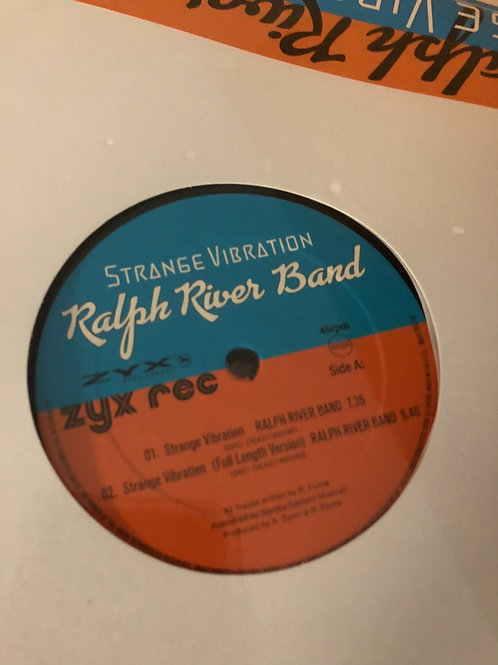 "Ralph River Band - Strange Vibration - 12"" black reissues"