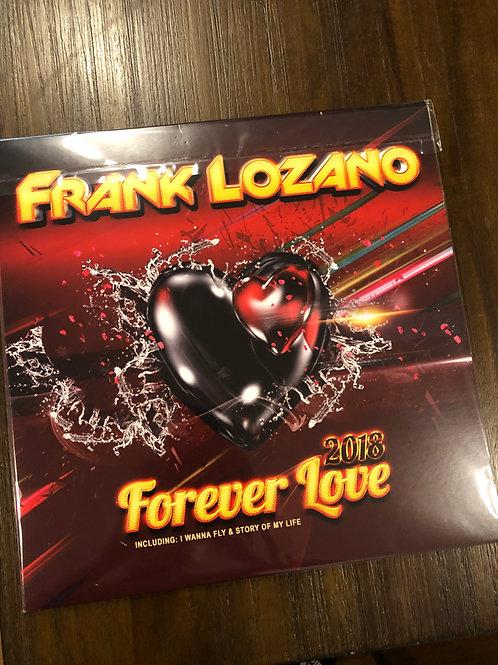 """Frank Lozano - Forever Love - 12"""" bone & mustard vinyl"""