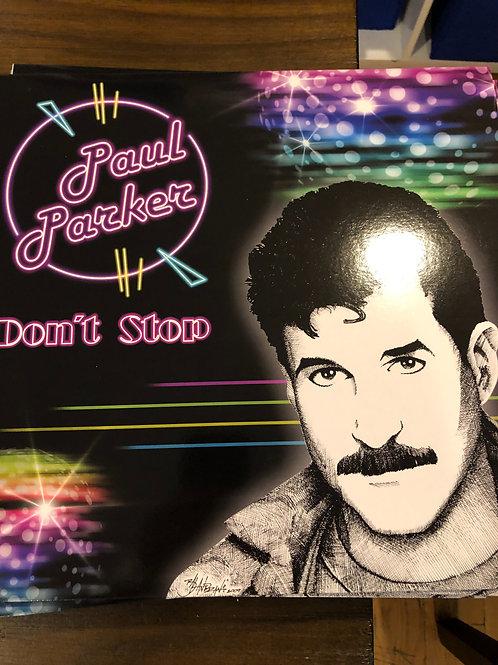 """Paul Parker - Don't Stop -12"""" transparent vinyl"""