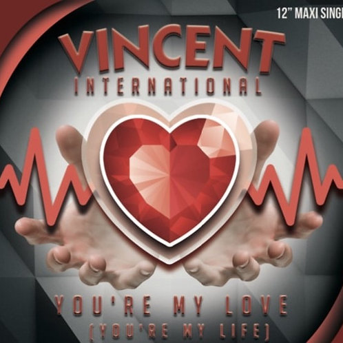 """Vincent International - You're My Love - 12"""" colored"""