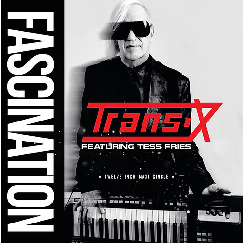 AMD 038 - Trans-X feat Tess Fries - Fascination - Red vinyl - 150 LimitedEdition