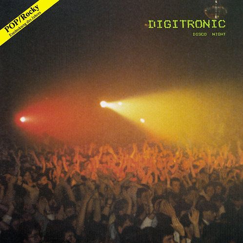 Digitronic ‎– Disco Night (Black vinyl)