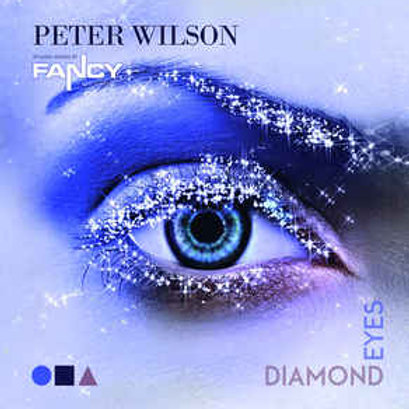 "Peter Wilson - Diamond Eyes - 12"" purple vinyl."