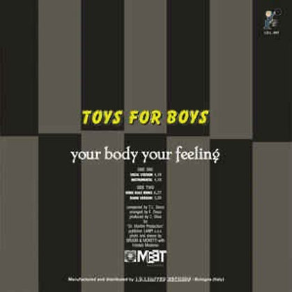 """Toys for Boys - Your Body Your Feeling - 12"""" silver"""
