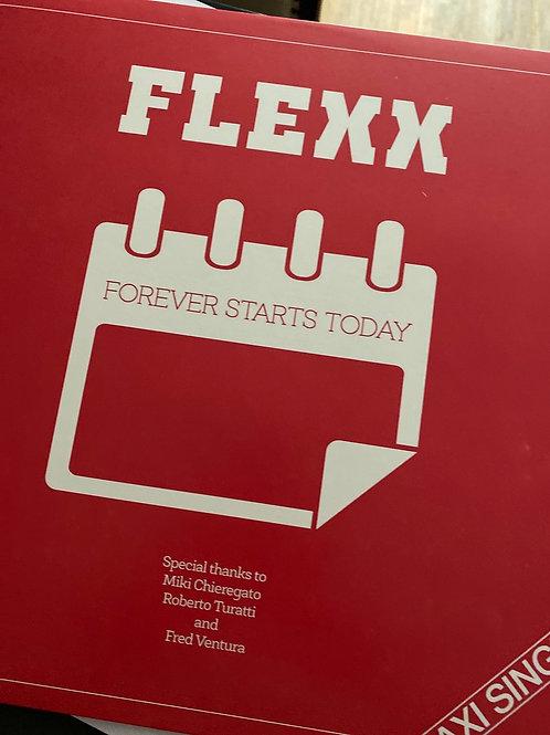 """Flexx - Forever Starts Today -12"""" white vinyl"""