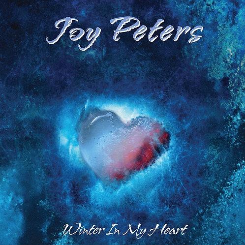 """Joy Peters - Winter In My Heart - 12"""" blue vinyl"""