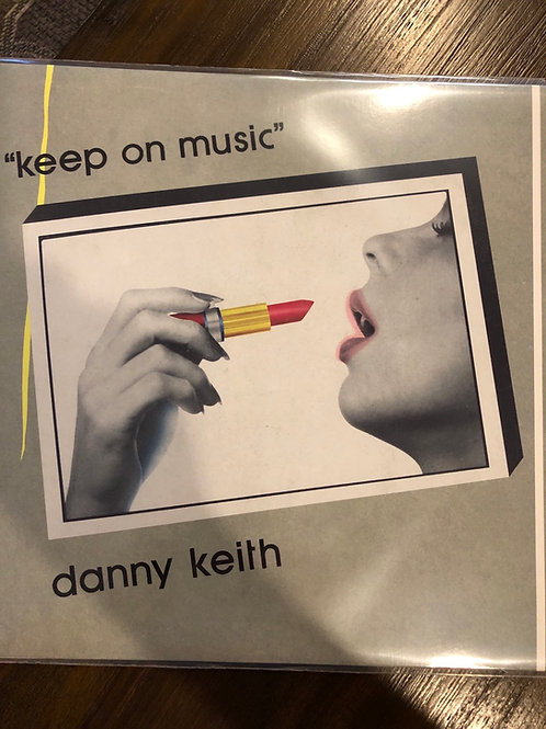 """Danny Keith - Keep On Music - 12"""" Red vinyl"""