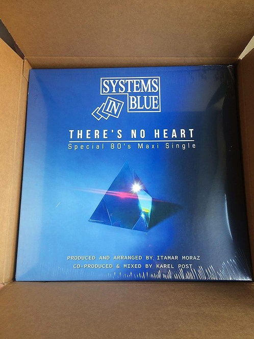 """Systems In Blue - There's No Heart 12"""" black vinyl"""