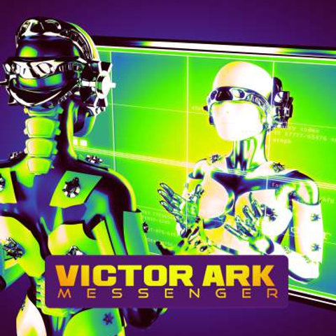"Victor Ark - Messenger - 12"" Yellow vinyl. Limited Edition of 100 copies only!"