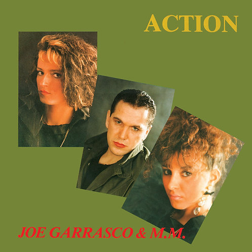 "Joe Garrasco & M.M. – Action 12"" black vinyl"