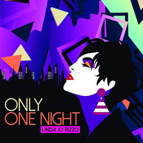 """Linda Jo Rizzo - Only One Night - 12"""" Blue vinyl. Limited Edition"""