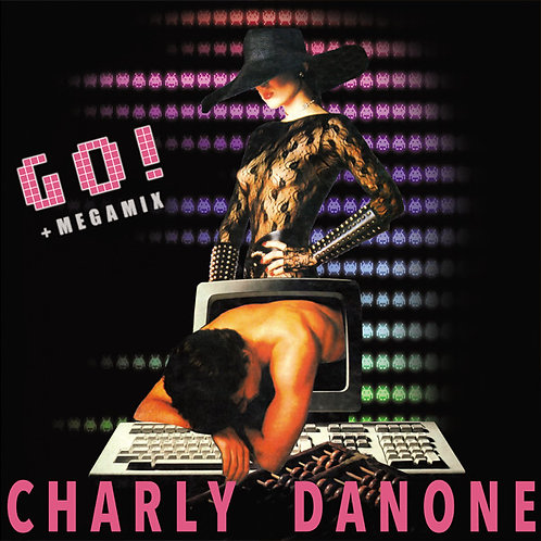 """Charly Danone - Go! - 12"""" Pink - Marbled vinyl"""