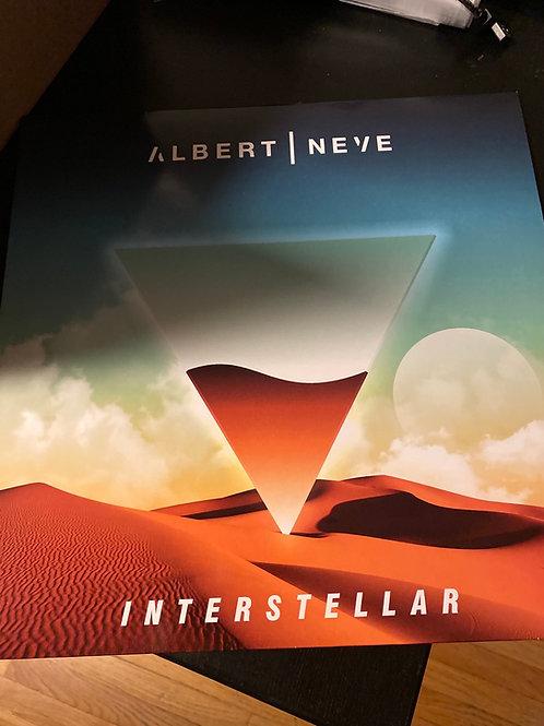 "Albert Neve - Interstellar - 12"" Clear vinyl"
