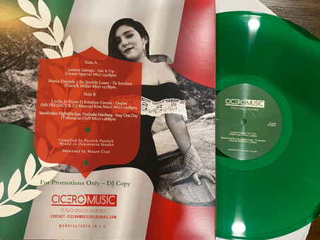 "To Mexico With Love Vol 3 - 12"" Green vinyl"