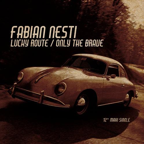 "Fabian Nesti - Lucky Route / Only The Brave - 12"" Gold vinyl"